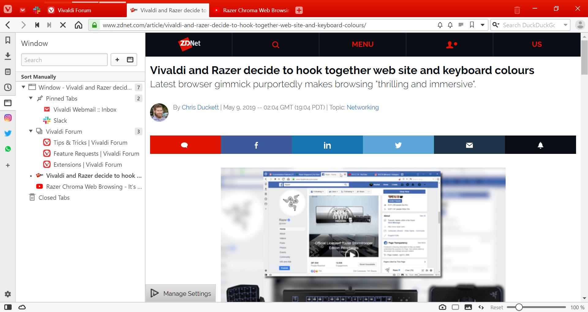 Image result for vivaldi browser sidebar notes